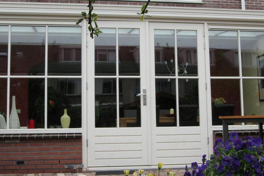 kunststof tuindeuren wit - Select Windows Bijster Hillegom