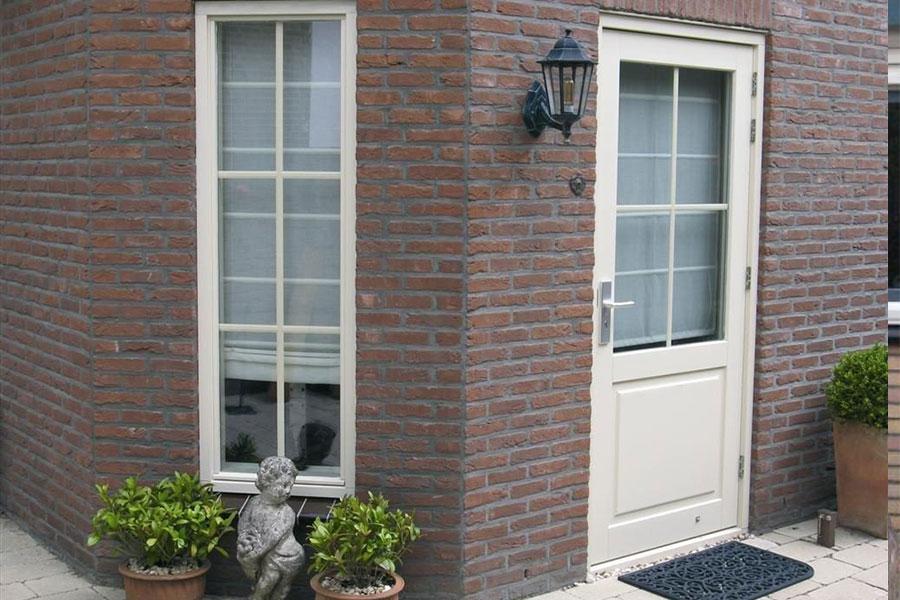 kunststof deur creme - Select Windows Bijster Hillegom