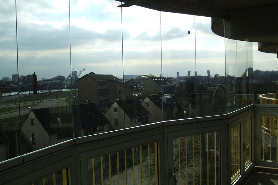 Balkonbeglazing afwijkende vormen - Select Windows Bijster Hillegom