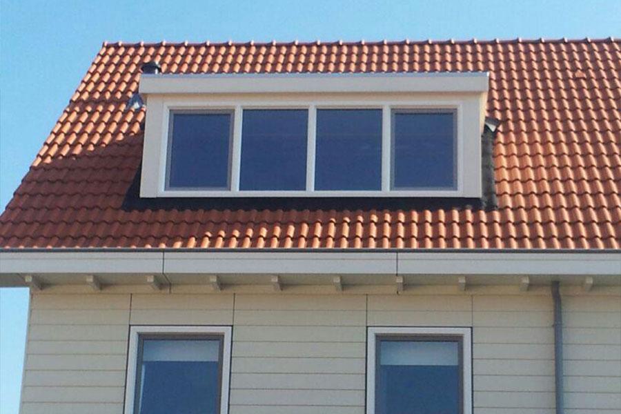 kunsstof witte dakkapel - Select Windows Bijster Hillegom