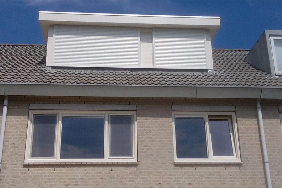 dakkapel met rolluiken - Select Windows Bijster Hillegom