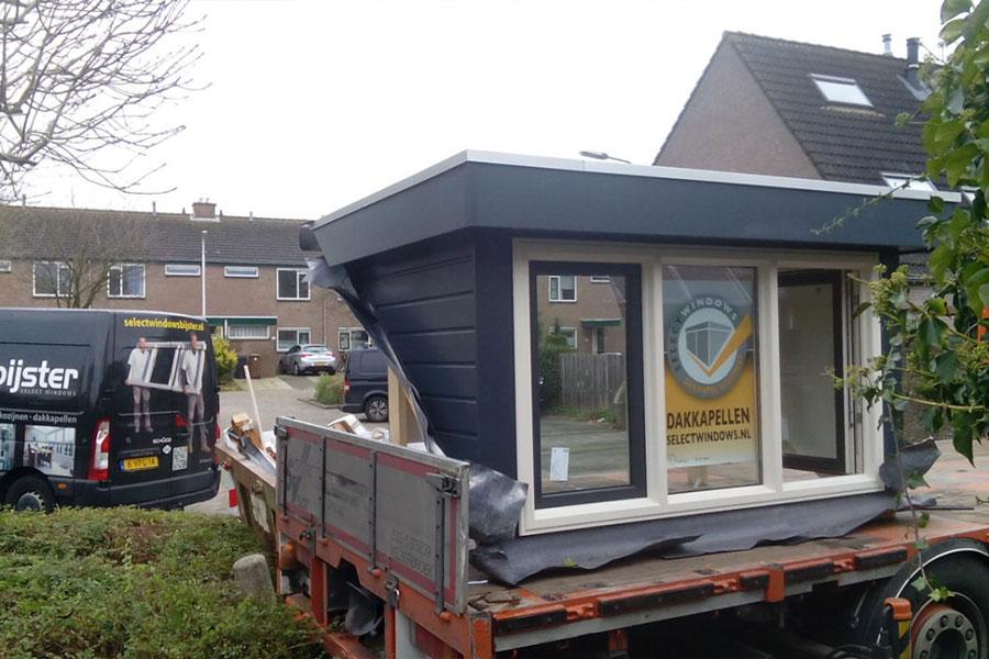 dakkapel in een dag geplaatst - Select Windows Bijster Hillegom